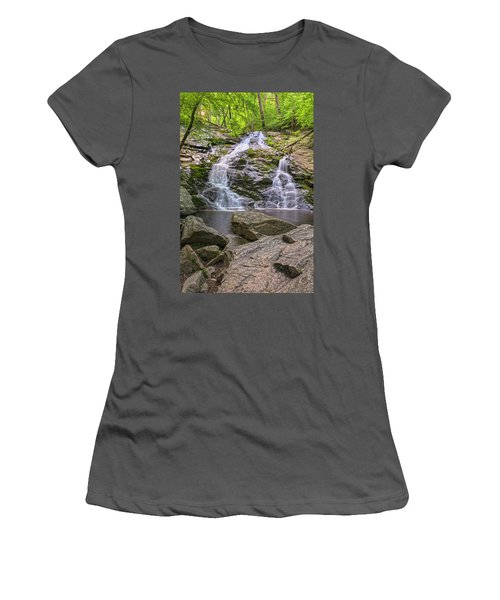 Mineral Springs Vertical Women's T-Shirt (Athletic Fit)