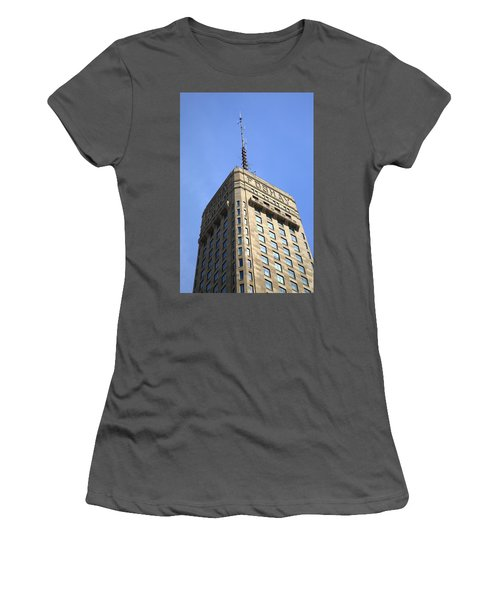 Women's T-Shirt (Junior Cut) featuring the photograph Minneapolis Tower 6 by Frank Romeo