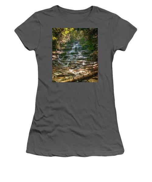 Minnehaha Falls Women's T-Shirt (Athletic Fit)