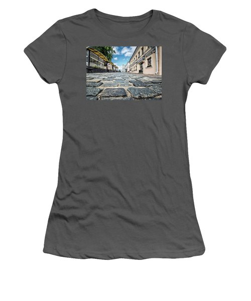 Minsk Old Town Women's T-Shirt (Athletic Fit)