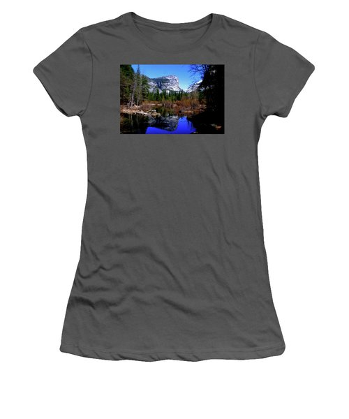 Mirror Lake Women's T-Shirt (Athletic Fit)