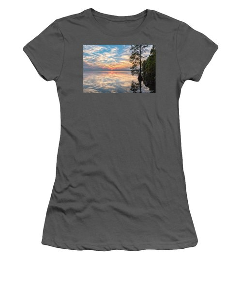 Mirrored Women's T-Shirt (Athletic Fit)