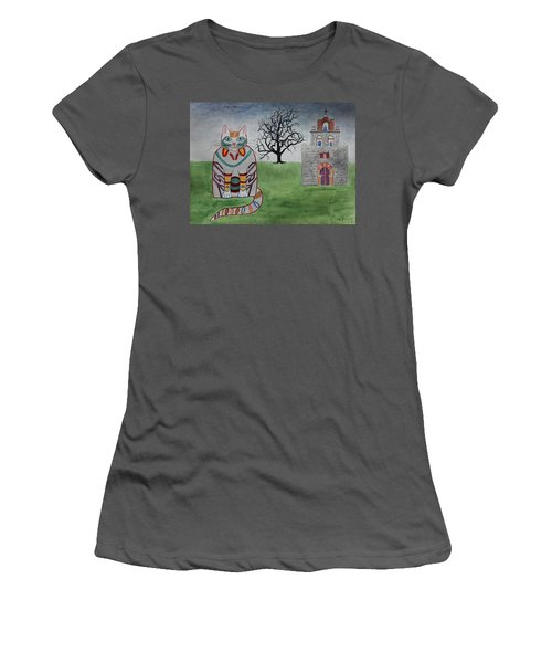 Mission Espada Cat Women's T-Shirt (Athletic Fit)