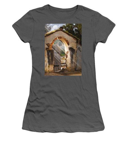 Mission Gate Women's T-Shirt (Athletic Fit)