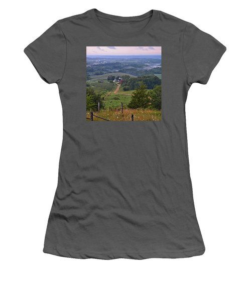Mississippi River Valley 2 Women's T-Shirt (Athletic Fit)