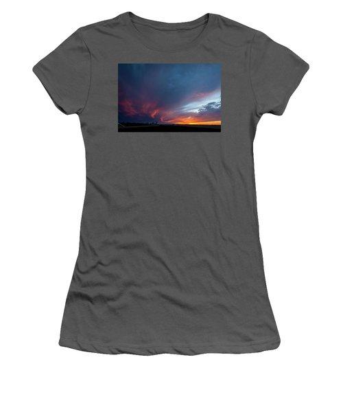 Missouri Sunset Women's T-Shirt (Athletic Fit)
