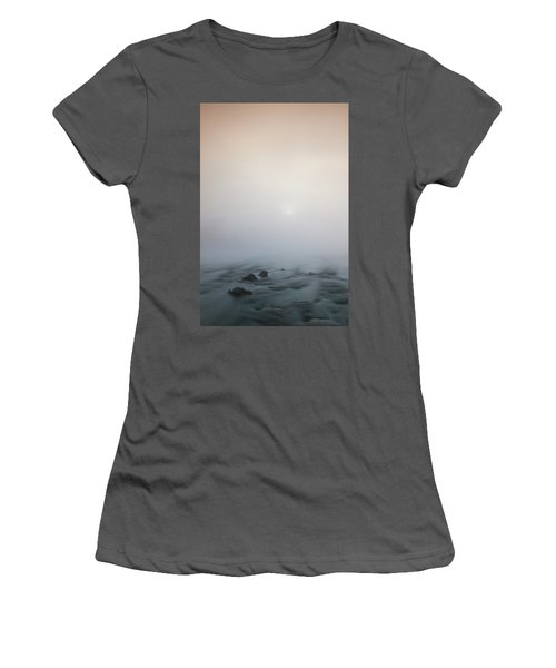 Mist Over The Third Tone From The Sun Women's T-Shirt (Athletic Fit)