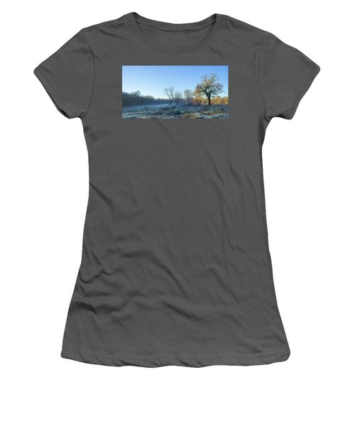 Misty Clearing Women's T-Shirt (Athletic Fit)