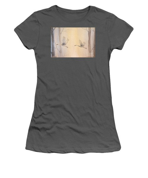 Misty Flight Women's T-Shirt (Athletic Fit)
