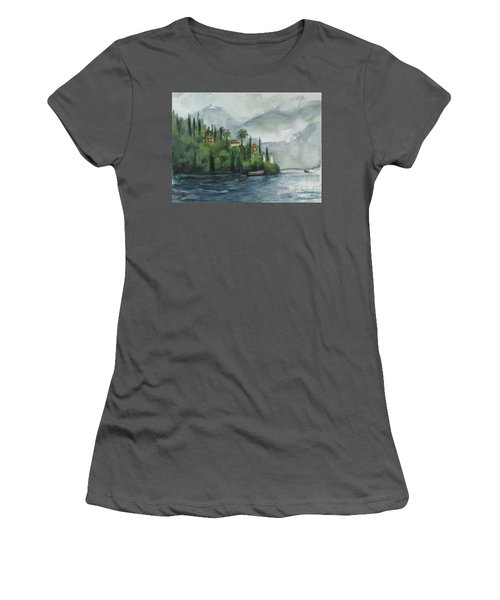 Misty Island Women's T-Shirt (Athletic Fit)