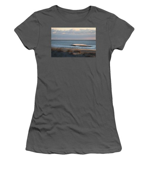 Misty Waves Women's T-Shirt (Athletic Fit)