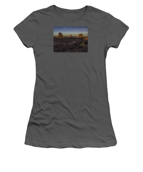 Mittens Morning Greeting Women's T-Shirt (Junior Cut) by Rob Wilson