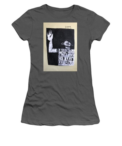 Mmxvii Surrender Women's T-Shirt (Athletic Fit)
