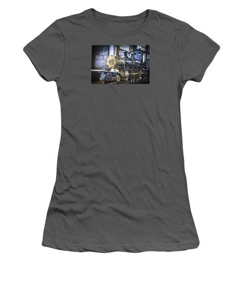 Model Train Women's T-Shirt (Athletic Fit)