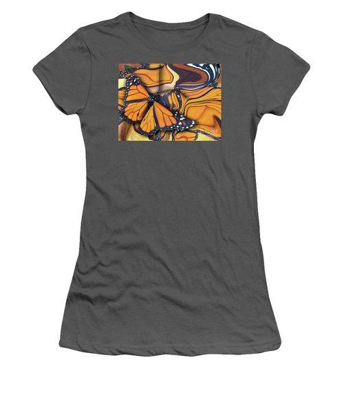 Monarch Flight Women's T-Shirt (Athletic Fit)