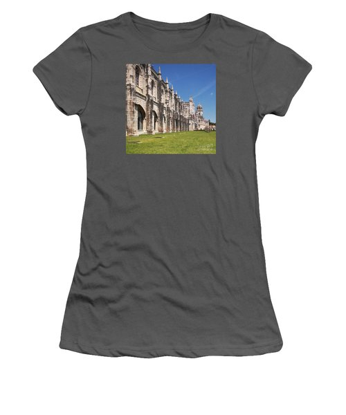 Monastery Of The Hieronymites Lisbon 3 Women's T-Shirt (Athletic Fit)