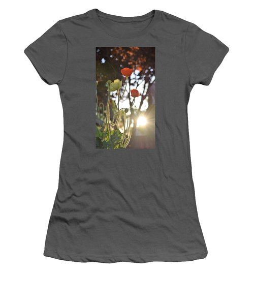 Monday Morning Sunrise Women's T-Shirt (Junior Cut) by John Glass
