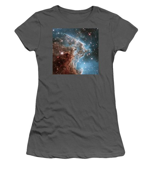 Women's T-Shirt (Junior Cut) featuring the photograph Monkey Head Nebula by Marco Oliveira