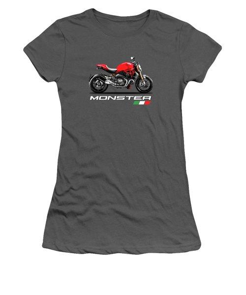 Monster 1200 Women's T-Shirt (Athletic Fit)