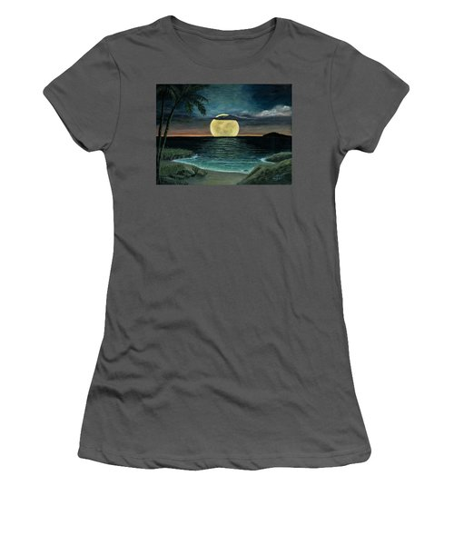 Moon Of My Dreams IIi Women's T-Shirt (Athletic Fit)