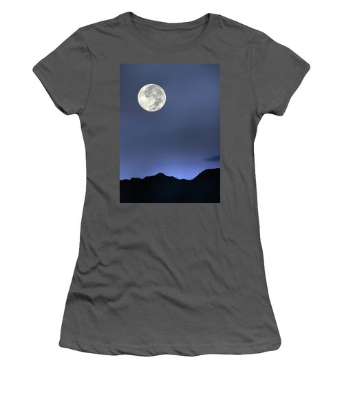 Moon Over Ko'olau Women's T-Shirt (Athletic Fit)