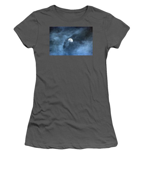Moon Smoke Women's T-Shirt (Athletic Fit)