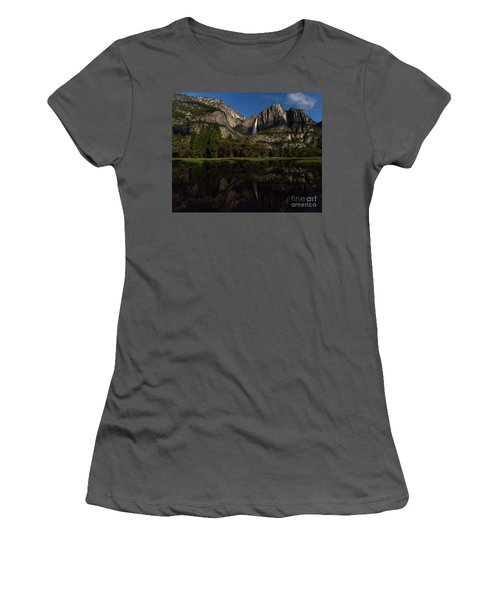 Moonbow Upper Falls Women's T-Shirt (Athletic Fit)