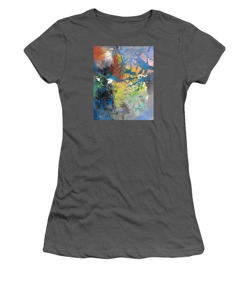 Moonglow Women's T-Shirt (Junior Cut) by Becky Chappell