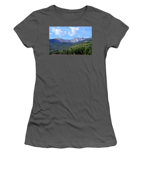 More Montana Mountains Women's T-Shirt (Athletic Fit)