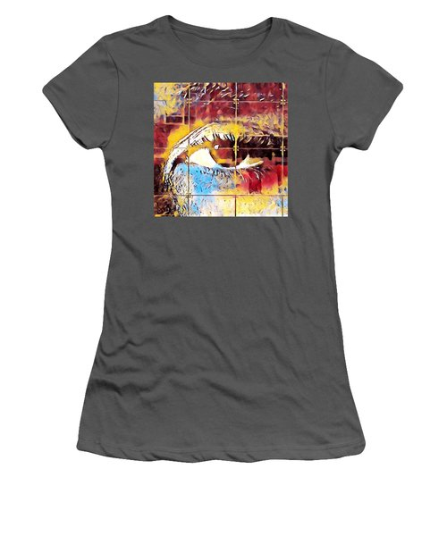 Morning Blues Women's T-Shirt (Athletic Fit)