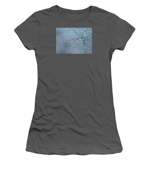 Morning Dew Women's T-Shirt (Junior Cut) by Tam Ryan
