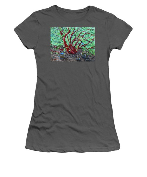 Morning Manzanita Women's T-Shirt (Athletic Fit)