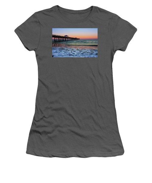 Morning Rush Women's T-Shirt (Junior Cut) by Laura Fasulo