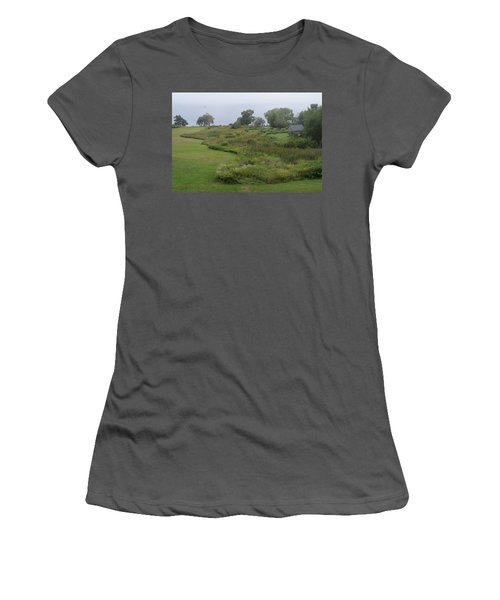 Morning View Women's T-Shirt (Athletic Fit)