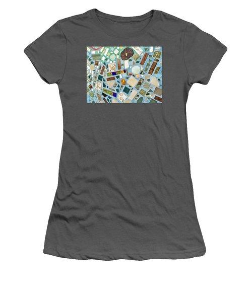 Mosaic No. 6-1 Women's T-Shirt (Athletic Fit)