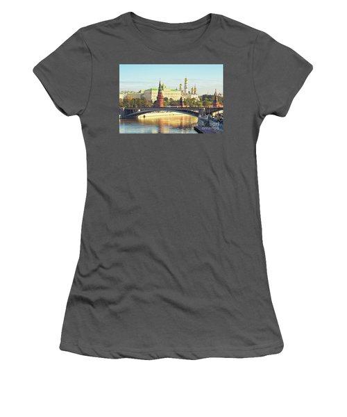 Moscow, Kremlin Women's T-Shirt (Junior Cut) by Irina Afonskaya