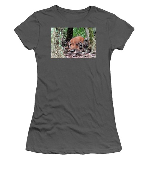 Mother's Care Women's T-Shirt (Athletic Fit)