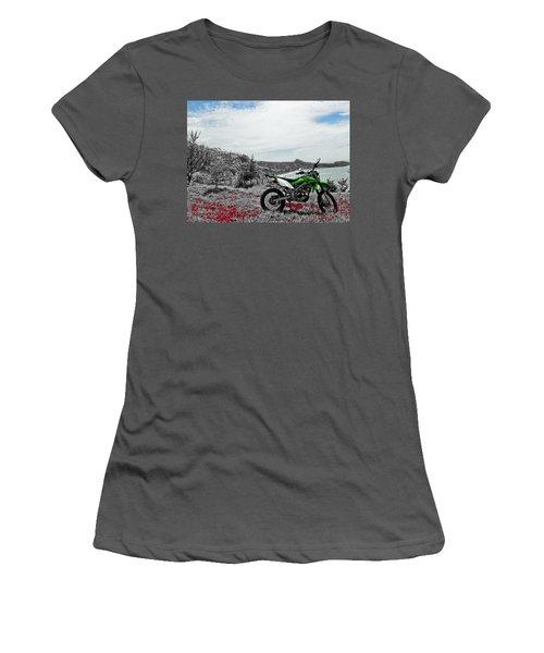 Motocross Women's T-Shirt (Athletic Fit)