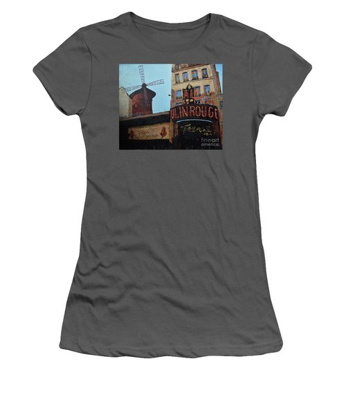 Moulin Rouge Women's T-Shirt (Athletic Fit)