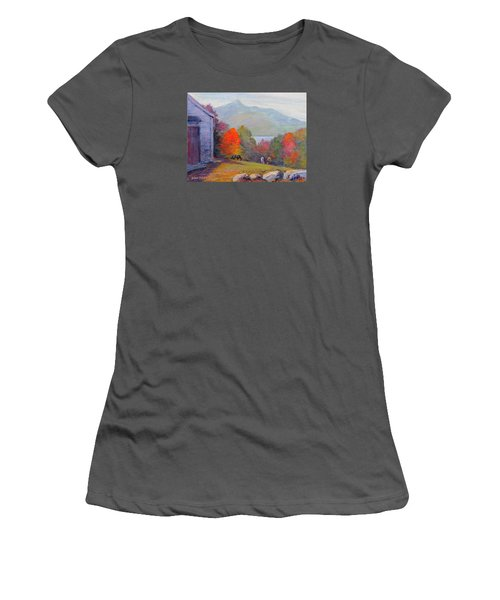 Mount Chocorua Women's T-Shirt (Athletic Fit)