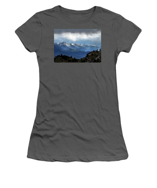 Mountain Moodiness Women's T-Shirt (Athletic Fit)
