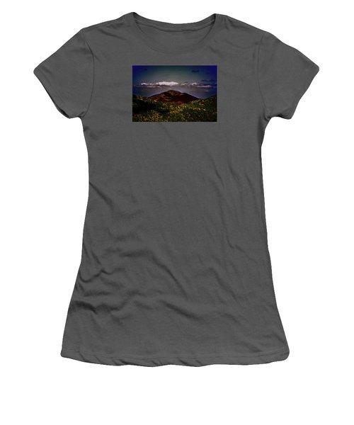 Women's T-Shirt (Junior Cut) featuring the photograph Mountain Of Love by B Wayne Mullins