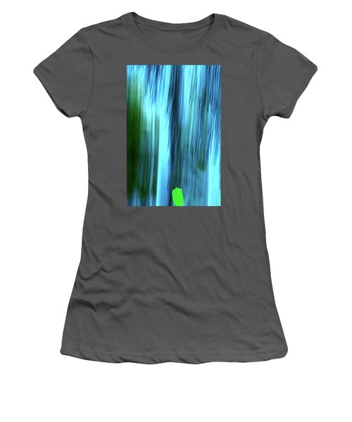 Moving Trees 37-15portrait Format Women's T-Shirt (Athletic Fit)