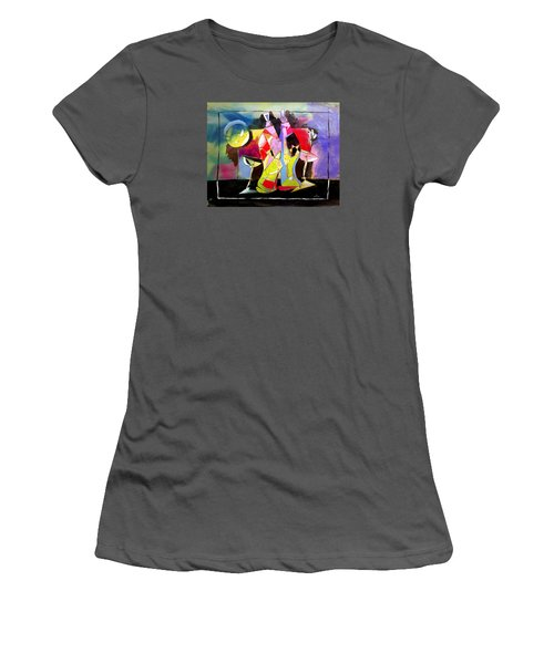 Mr Ameeba 3 Women's T-Shirt (Athletic Fit)
