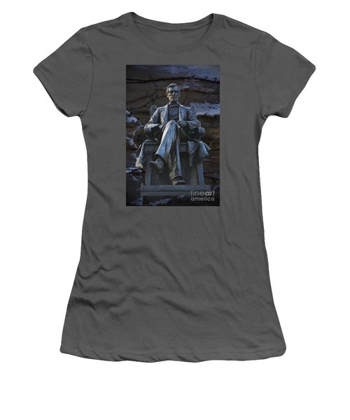 Mr. Lincoln Women's T-Shirt (Athletic Fit)