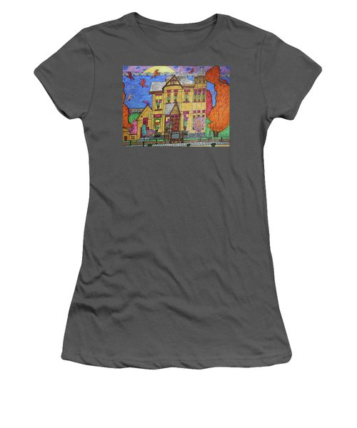 Mrs. Robert Stephenson Home. Women's T-Shirt (Athletic Fit)