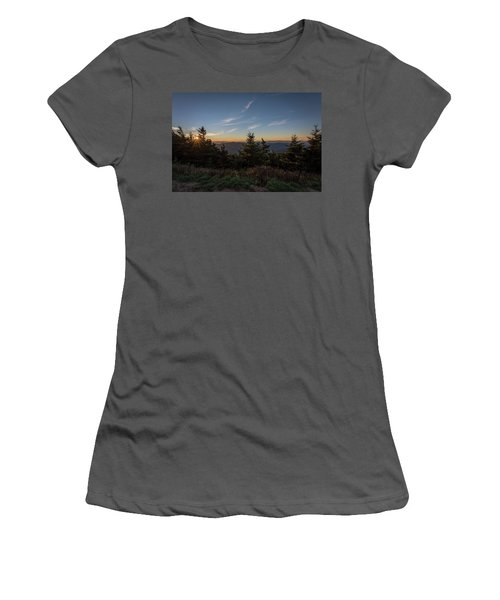 Mt Mitchell Sunset North Carolina 2016 Women's T-Shirt (Junior Cut) by Terry DeLuco