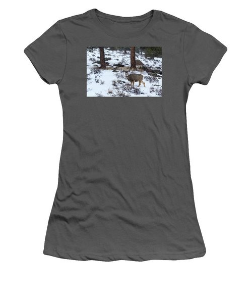 Mule Deer - 8922 Women's T-Shirt (Athletic Fit)