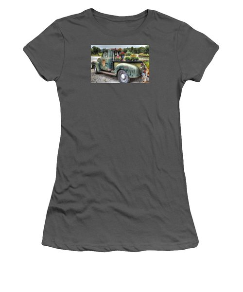 Mums The Word Women's T-Shirt (Athletic Fit)