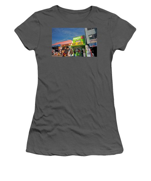 Muscle Beach Women's T-Shirt (Athletic Fit)